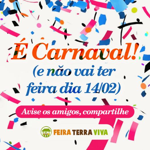 Cartaz Carnaval